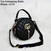 Tas Mini Bulat Tas Selempang wanita Gucci SlingBag murah tas Import