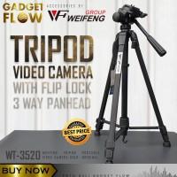 Tripod Video Kamera Camera DSLR Hp 140 cm WEIFENG ORIGINAL WT-3520