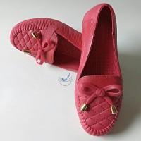 Sepatu Karet Anak Perempuan Sepatu Cewek Pita JellyShoes Wanita