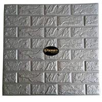 WALLPAPER Foam 3D Grey Brick | 70CM x 77CM