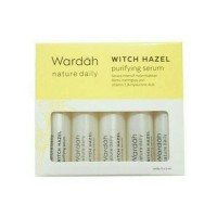 Wardah Nature Daily Witch Hazel Purifying Serum 5 x 5 ml