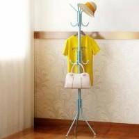 HOT SALE Multifunction Standing Hanger Serbaguna Hanger - Putih