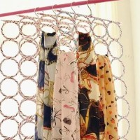HOT SALE Gantungan jilbab/Scraf & Shawl Jilbab Selendang Ring 28 Set