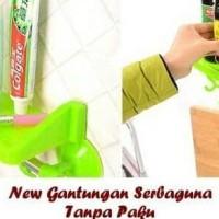 HOT SALE New Gantungan Serbaguna / Tanpa Paku / Peralatan Dapur Kamar