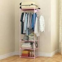 HOT SALE Stand Hanger Serbaguna 2 in 1 Gantungan Baju Multifungsi