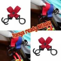 HOT SALE gantungan hook serbaguna stroller kereta bayi mainan empeng