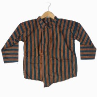 Surjan Lurik Anak Laki-Laki / Baju Lurik Anak Laki-Laki - 6-7 tahun