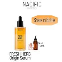 SHARE 10ml NACIFIC Fresh Herb Origin Serum NATURAL PACIFIC