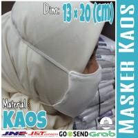 Masker Kaos Hidung Mulut Perlengkapan Haji Dan Umroh Grosir Murah