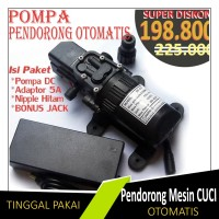 Pompa Pendorong MESIN CUCI Otomatis Serbaguna DP 537 Adaptor Murni 5A