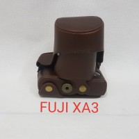 LEATHER CASE FUJIFILM XA3 / TAS CAMERA FUJIFILM XA 3