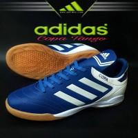 Sepatu Futsal Adidas Copa Tango Biru Putih Import