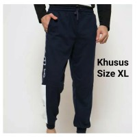 Celana Panjang Olahraga Training Santai Pria Size XL Nevada navy nvd96