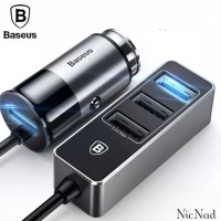 Baseus Car Charger 4 USB Port 5.5A Fast Charging Original