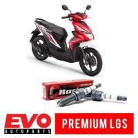 Busi BRISK Premium LGS AOR12LGS untuk Motor Honda Beat