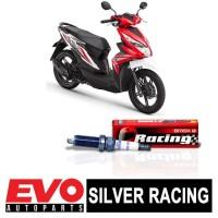 Busi BRISK Silver Racing AR12YS untuk Motor Honda Beat