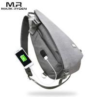Mark Ryden Tas Selempang dengan USB Charger Port - MR5975 - Gray