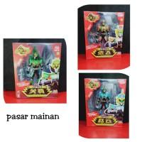 mainan anak figure legend hero Guan Yu