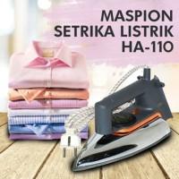 Setrika Maspion HA-110 Setrika Listrik Setrika Baju Setrika Pakaian