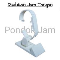 Dudukan Jam Tangan 3 Panel / Stand Jam Tangan Plastik