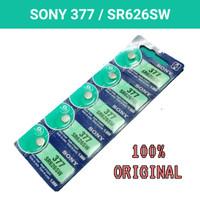 Baterai Sony SR626SW Original / 1 Strip Isi 5 Pcs