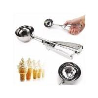 Ice Cream Scoop 4CM - Centong Es krim Stainless Steel dengan per 4cm