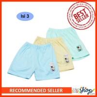 Hachi Celana Pendek Bayi Celana Anak Isi 3 Bahan Singlet Harian Anak