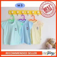 Hachi Kaos Singlet Bayi Oblong Isi 3 Pakaian Harian Anak Kaos Dalam