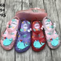 Sepatu Jelly Shoes Anak Import Dolphins- Sepatu bayi Sepatu anak karet