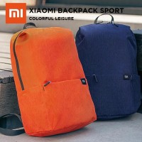 Tas Xiaomi Mi Colorful Trendy Solid Color Lightweight Backpack Sport