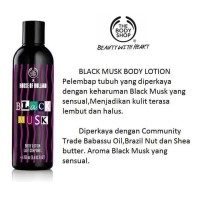 The Body Shop Blackmusk Body Lotion 250ml