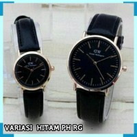PROMO FREE BOX & BATERAI !! READY 6 WARNA JAM TANGAN COUPLE DW POLOS