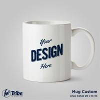 Mug Custom Full Print - Gelas Souvenir Sublim - Merchandise Gift
