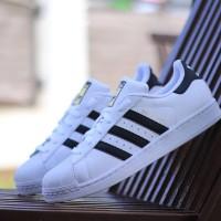 Adidas Superstar Foundation White Black Stripes ORIGINAL BNWB