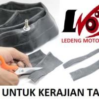 Bekas Karet Ban Dalam Motor Daur Ulang Limbah Jadi Kerajinan Tangan