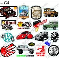 Travel Label Sticker Koper Rimowa Design G4 Famous Brand Car SHELL VW