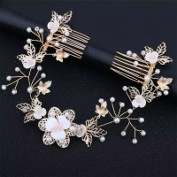 Bride Wedding Hair Accessories AR032 / Headpiece / Aksesoris crystal