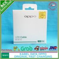 Kabel Data Fast Charging OPPO Mirror 3 Original 100% Micro USB 2A - Putih