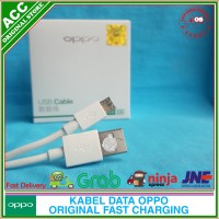 Kabel Data Fast Charging OPPO A7 A5s Original 100% Micro USB 2A