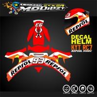 Decal helm KYT RC7 REPSOL MARQUEZ