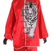 Proteam Baju Taichi Harimau Abu-Merah