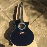 Gitar merk Cort akustik elektrik