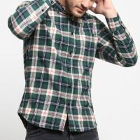 MENTLI Kemeja Flanel Pria Duke Flannel Shirt
