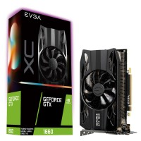 EVGA GeForce GTX 1660 XC GAMING 6GB GDDR5, HDB Fan