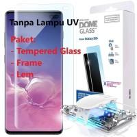 WHITESTONE DOME FULL ADHESIVE TEMPERED GLASS GALAXY S10+ PLUS Non UV