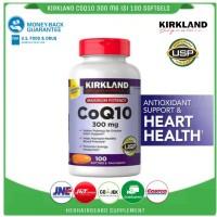 kirkland signature coq10 300mg isi 100 softgels