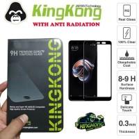 Xiaomi Redmi Note 5 Pro Full Cover Tempered Gorilla Glass Kingkong