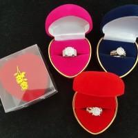 kotak cincin love box perhiasan