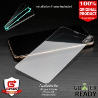 Tempered Glass iPhone XS Max XR XS X Case Friendly Screen Protector