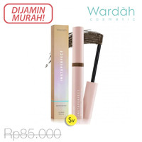 Wardah Instaperfect Browfessional 3d Brow Mascara Eyebrow Maskara